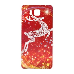 Background Reindeer Christmas Samsung Galaxy Alpha Hardshell Back Case