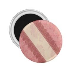 Background Pink Great Floral Design 2.25  Magnets