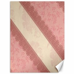 Background Pink Great Floral Design Canvas 36  x 48