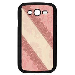 Background Pink Great Floral Design Samsung Galaxy Grand Duos I9082 Case (black)
