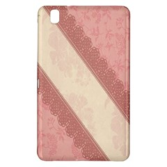 Background Pink Great Floral Design Samsung Galaxy Tab Pro 8 4 Hardshell Case