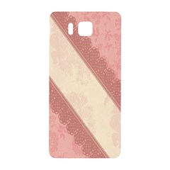 Background Pink Great Floral Design Samsung Galaxy Alpha Hardshell Back Case