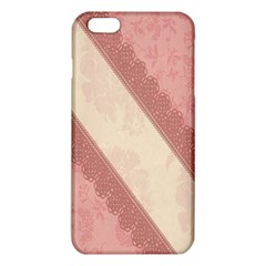 Background Pink Great Floral Design iPhone 6 Plus/6S Plus TPU Case