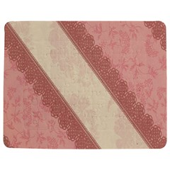 Background Pink Great Floral Design Jigsaw Puzzle Photo Stand (Rectangular)