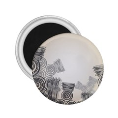 Background Retro Abstract Pattern 2.25  Magnets
