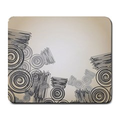Background Retro Abstract Pattern Large Mousepads