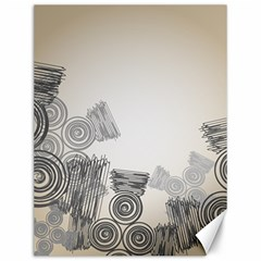 Background Retro Abstract Pattern Canvas 12  x 16