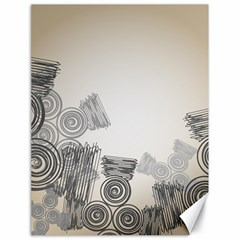 Background Retro Abstract Pattern Canvas 18  x 24