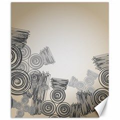 Background Retro Abstract Pattern Canvas 20  x 24