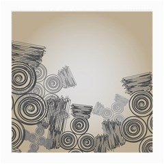 Background Retro Abstract Pattern Medium Glasses Cloth (2-Side)