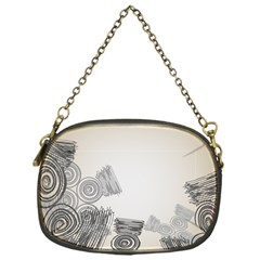 Background Retro Abstract Pattern Chain Purses (one Side)