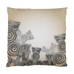 Background Retro Abstract Pattern Standard Cushion Case (Two Sides)