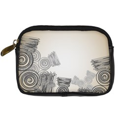 Background Retro Abstract Pattern Digital Camera Cases