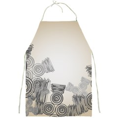 Background Retro Abstract Pattern Full Print Aprons