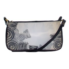 Background Retro Abstract Pattern Shoulder Clutch Bags