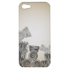 Background Retro Abstract Pattern Apple Iphone 5 Hardshell Case