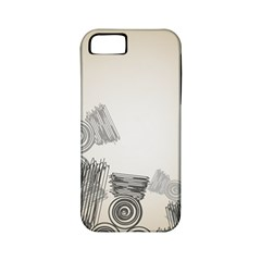 Background Retro Abstract Pattern Apple iPhone 5 Classic Hardshell Case (PC+Silicone)