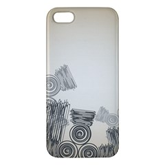 Background Retro Abstract Pattern Apple iPhone 5 Premium Hardshell Case