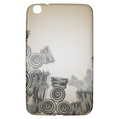 Background Retro Abstract Pattern Samsung Galaxy Tab 3 (8 ) T3100 Hardshell Case