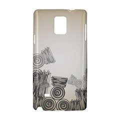 Background Retro Abstract Pattern Samsung Galaxy Note 4 Hardshell Case