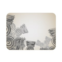 Background Retro Abstract Pattern Double Sided Flano Blanket (Mini)