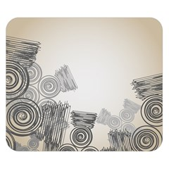 Background Retro Abstract Pattern Double Sided Flano Blanket (Small)