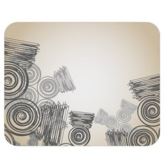 Background Retro Abstract Pattern Double Sided Flano Blanket (Medium)