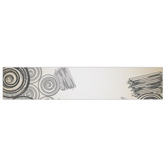 Background Retro Abstract Pattern Flano Scarf (small)