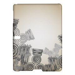 Background Retro Abstract Pattern Samsung Galaxy Tab S (10 5 ) Hardshell Case