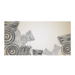 Background Retro Abstract Pattern Satin Wrap