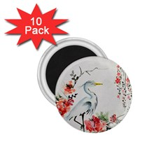 Background Scrapbook Paper Asian 1 75  Magnets (10 Pack)