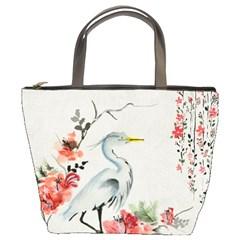 Background Scrapbook Paper Asian Bucket Bags