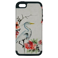 Background Scrapbook Paper Asian Apple Iphone 5 Hardshell Case (pc+silicone)