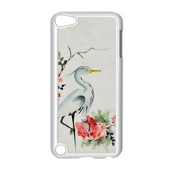 Background Scrapbook Paper Asian Apple iPod Touch 5 Case (White)
