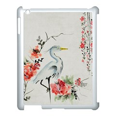 Background Scrapbook Paper Asian Apple iPad 3/4 Case (White)