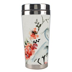 Background Scrapbook Paper Asian Stainless Steel Travel Tumblers