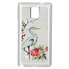 Background Scrapbook Paper Asian Samsung Galaxy Note 4 Case (White)