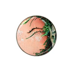 Background Stone Wall Pink Tree Hat Clip Ball Marker (4 Pack)