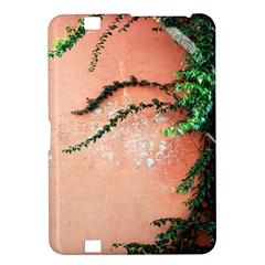 Background Stone Wall Pink Tree Kindle Fire HD 8.9