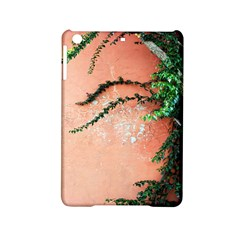Background Stone Wall Pink Tree iPad Mini 2 Hardshell Cases