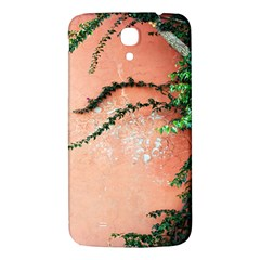 Background Stone Wall Pink Tree Samsung Galaxy Mega I9200 Hardshell Back Case