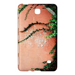 Background Stone Wall Pink Tree Samsung Galaxy Tab 4 (7 ) Hardshell Case