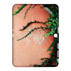 Background Stone Wall Pink Tree Samsung Galaxy Tab 4 (10 1 ) Hardshell Case