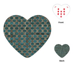 Background Vert Playing Cards (Heart)