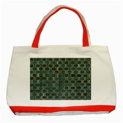 Background Vert Classic Tote Bag (Red)