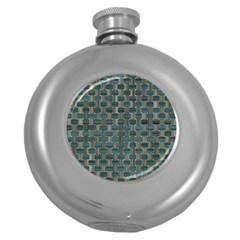 Background Vert Round Hip Flask (5 Oz)