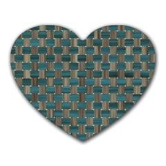 Background Vert Heart Mousepads