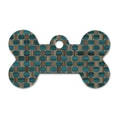 Background Vert Dog Tag Bone (Two Sides)