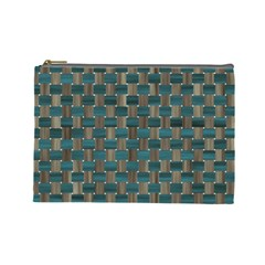 Background Vert Cosmetic Bag (Large)