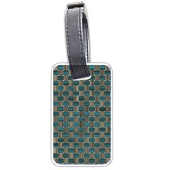 Background Vert Luggage Tags (Two Sides)